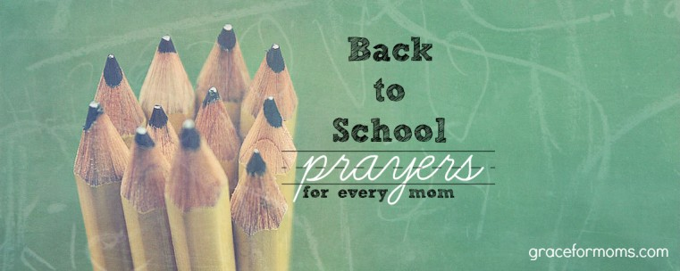 Back to School Prayers