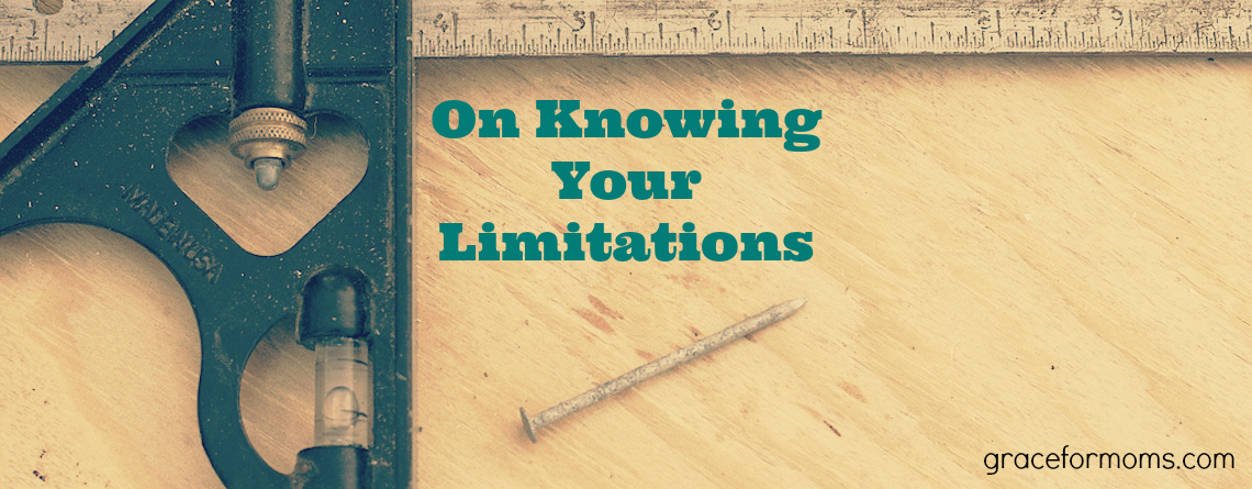 On Knowing Your Limitations