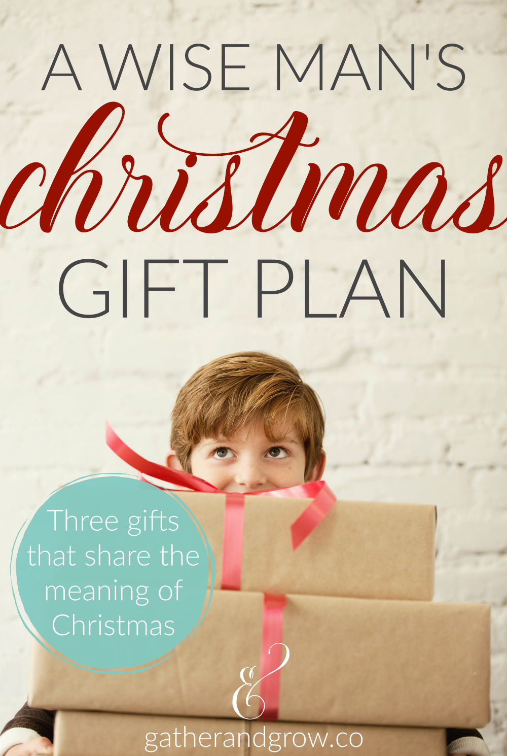 A Wise Man's Christmas Gift Plan