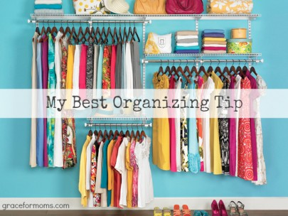 My Best Organizing Tip