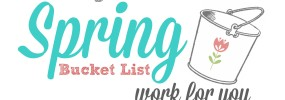 Spring Bucket List Header