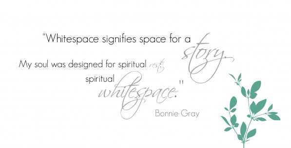Finding Spiritual Whitespace {review + giveaway}