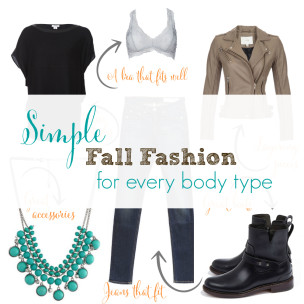 Simple Fall Fashion for Every Body Type