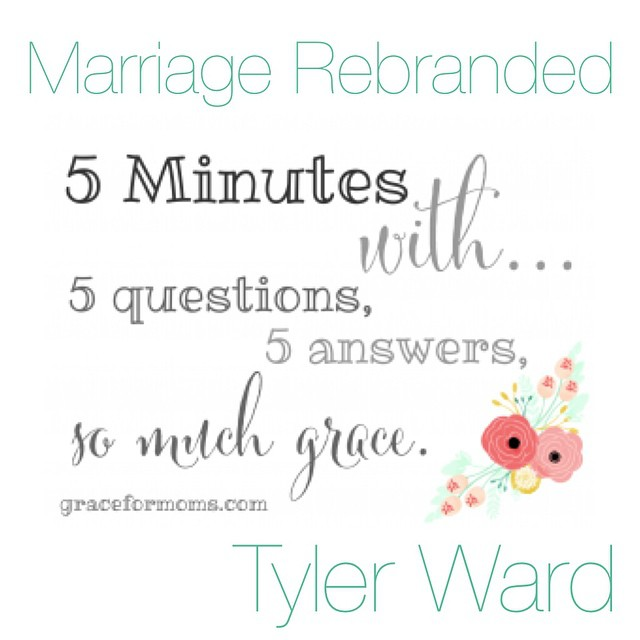 We're talking marriage with @tylerward #ontheblog today.