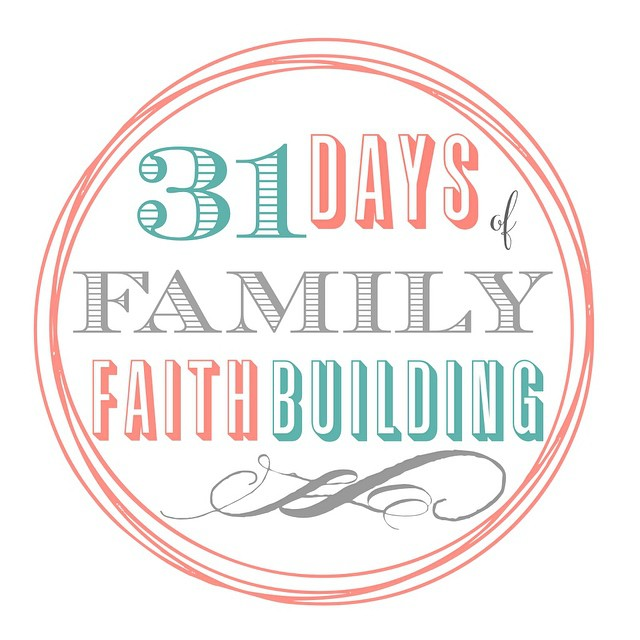 Join us all month long as we explores topics to encourage faith-building conversations for your family. We'll cover everything from salvation to the Bible to gratitude with language that translates to your children. Bookmark this post and check back often or subscribe so you don't miss one! #faithbuilding #31days