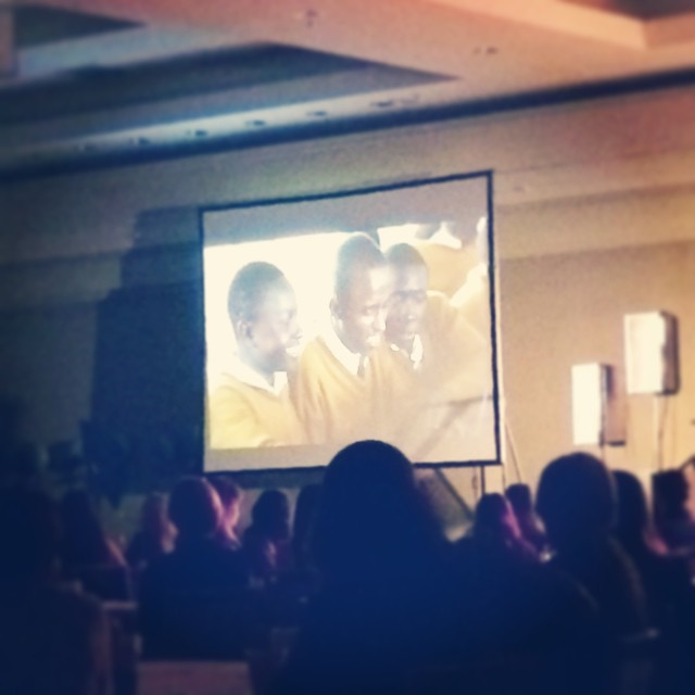 At #influenceconf learning more about the project YOU girls gave to through our summer partnership with @mochaclub New Dawn School, Kenya Please keep this project and all those involved in your prayers!!