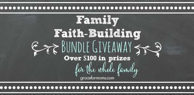 Family Faith-Building Bundle {giveaway}