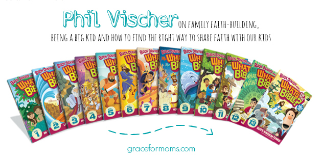 5 Minutes with. . . Phil Vischer {What's In The Bible + Veggie Tales Creator}