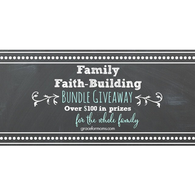 Introducing our NEW monthly bundle #giveaway! This month as we focus on family #faithbuilding we are giving away over $100 in resources and tools including @tommynelsonbooks @whatsinthebible @seedsworship Check it out #ontheblog