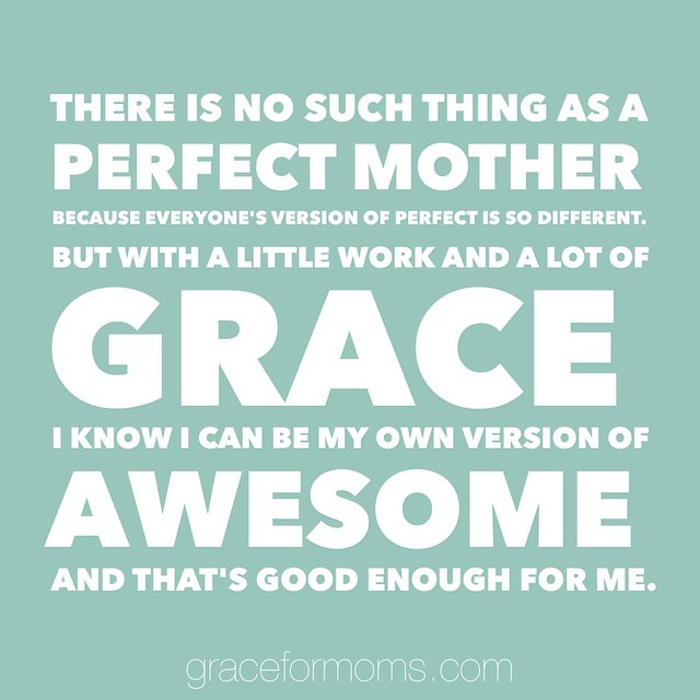 #truth #motherhood #sharegrace