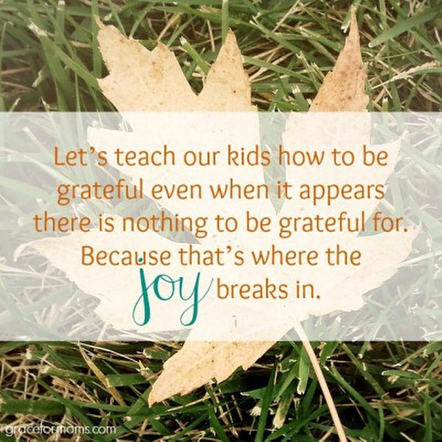 #ontheblog Teaching kids to have gratitude in hard seasons. {link in profile}