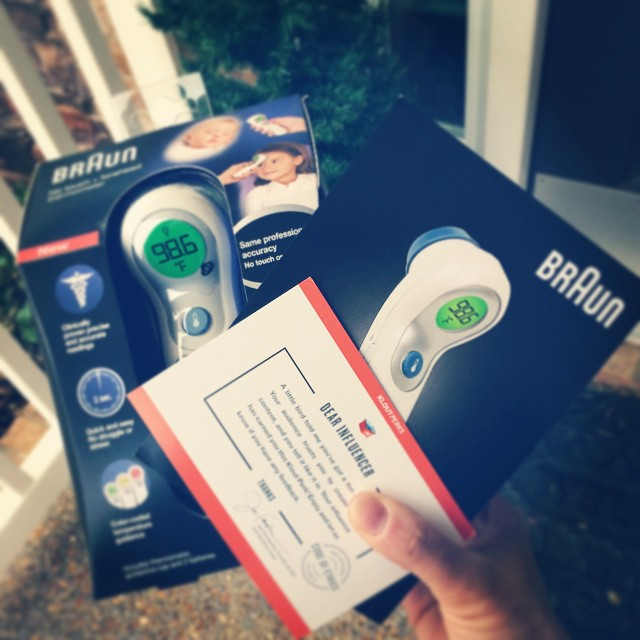 I truly hope we don't need it that much but if we do...we'll be ready. I love @brauntherms and cannot wait to try this new no touch forehead #BraunTherms Thank you #klout #kloutperks