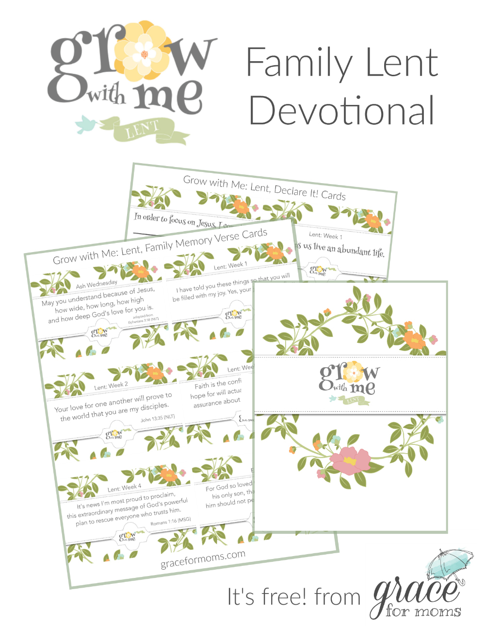 Grow with Me Family Lent Devotional