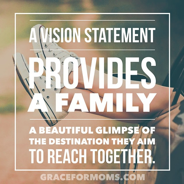 Talking about writing goals + a family vision statement #ontheblog {link in profile}