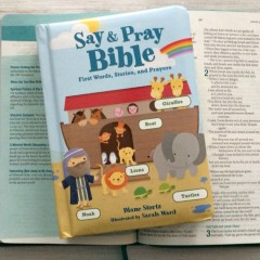 Say & Pray Bible Review + Giveaway