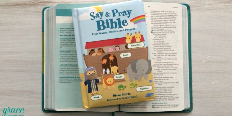 Say and Pray Bible {review + giveaway}