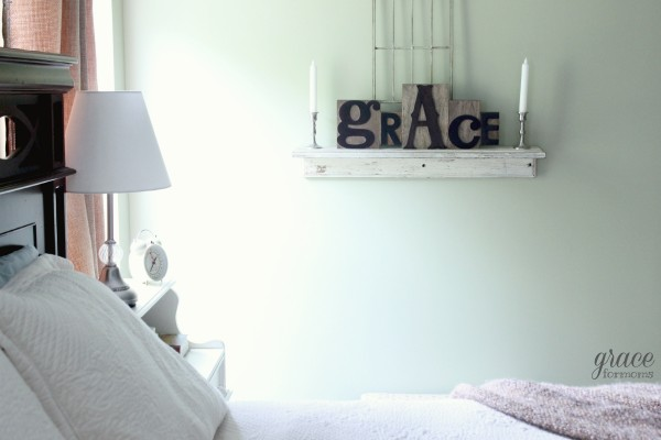 Grace on Display Bedroom