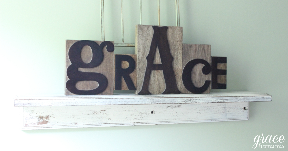 Grace on Display {DaySpring coupon + giveaway}