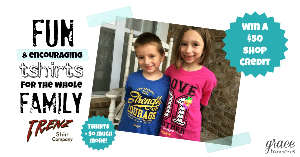 Trenz Christian Tshirts {review + giveaway}