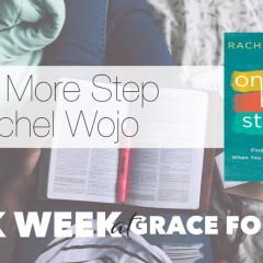 One More Step with Rachel Wojo {book feature}