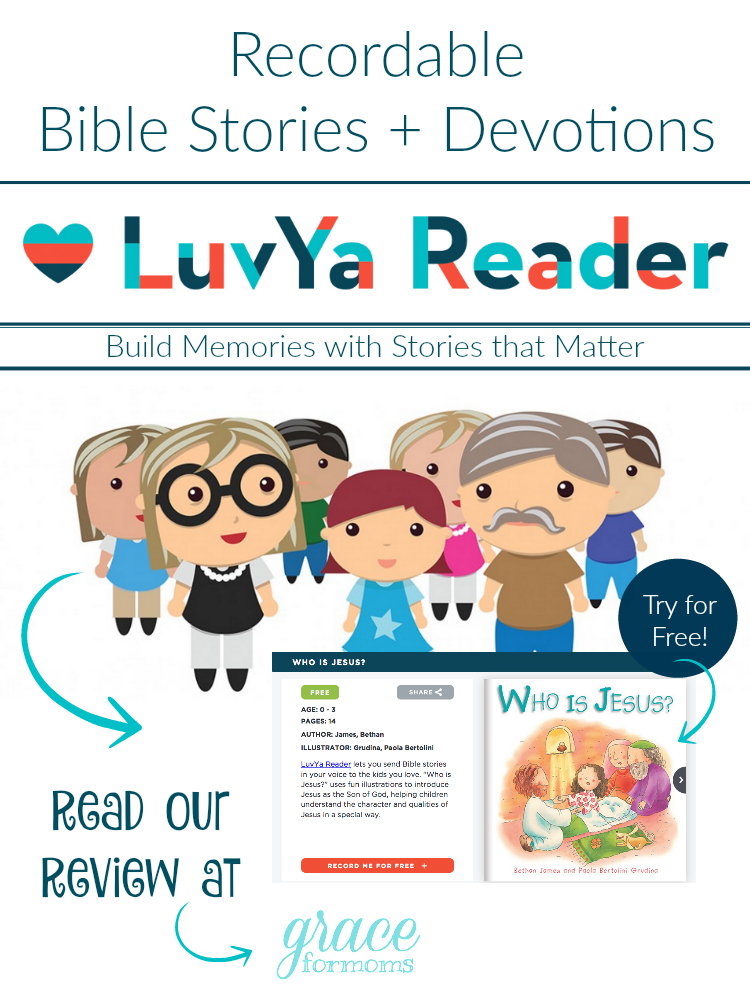 Recordable Bible Stories + Devotions LuvYa Reader