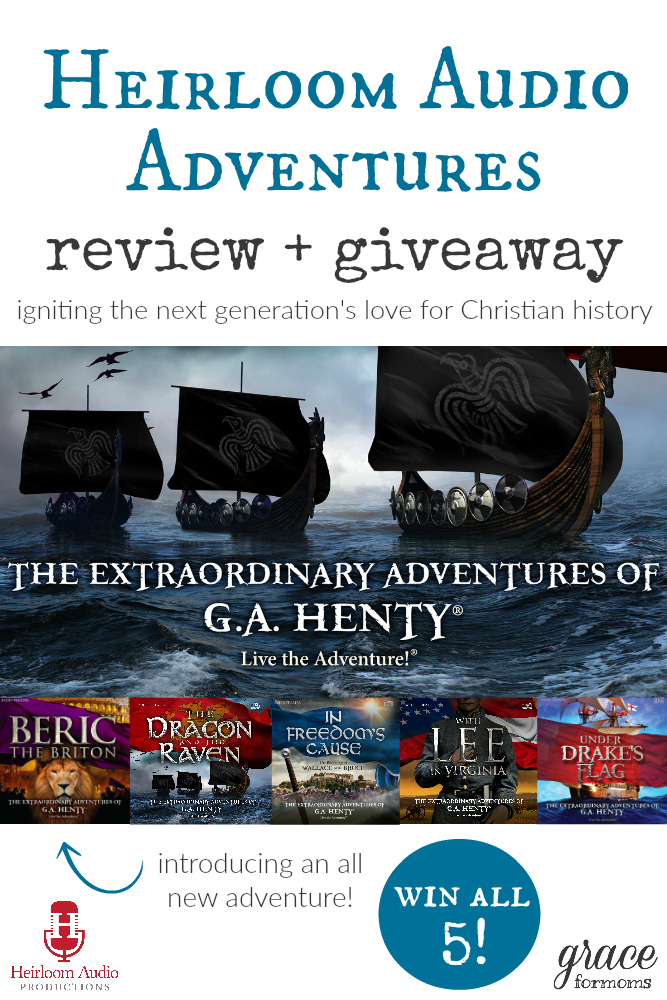 Heirloom Audio Adventures Review and Giveaway