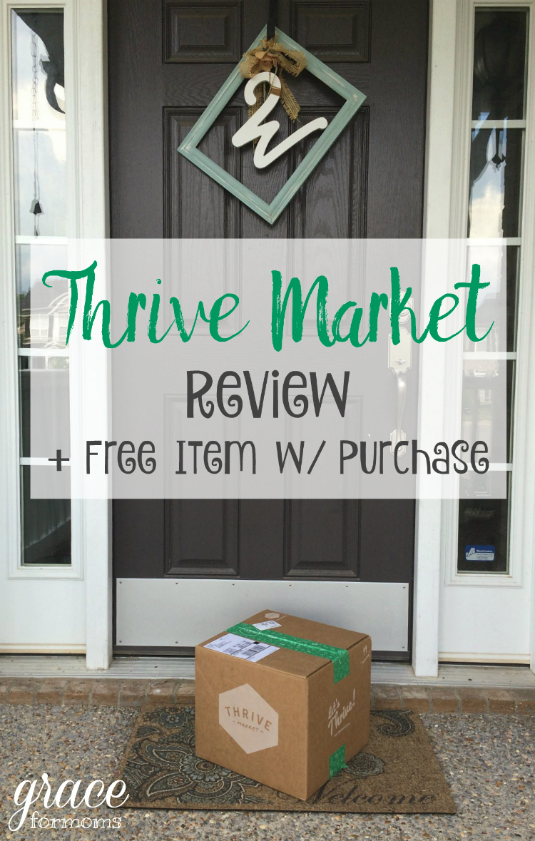 Thrive Market Review and Free Item with Purchase