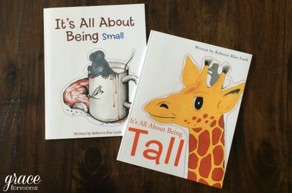 It's About Being Small Books
