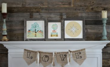 Custom Minted Art: Sharing Our Family Story at Home